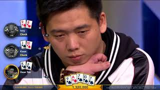 Final Table | HK$1 Million Short Deck Ante Only | Triton Poker Super High Roller | Part 3