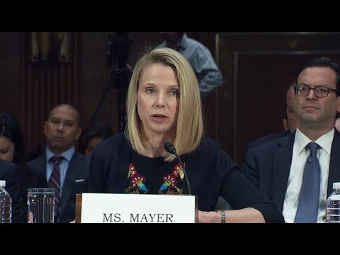 Former Yahoo CEO testifies about security breach
