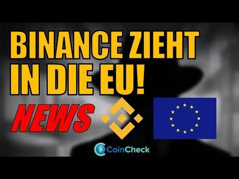 BINANCE verlagert Sitz in die EU! Yahoo Japan eröffnet Exchange für Kryptowährungen! Bitcoin Update
