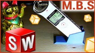 Как изменить 3D модель STL файл в SolidWorks. 3D печать и 3D принтер