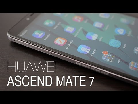 Ascend Mate 7, review en español