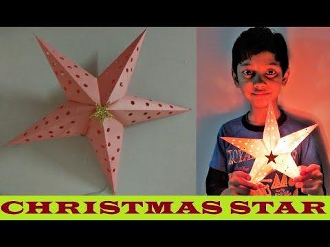 How to make Christmas Star Lantern | DIY | Christmas Decoration