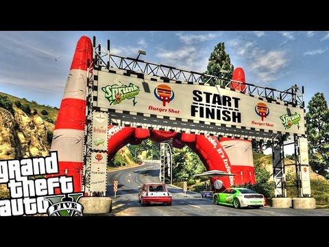 World Rally Championship Race - GTA 5 PC MOD