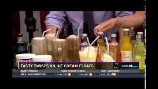 Tasty Twists on the Ice Cream Float (7/8/15 on KARE 11)