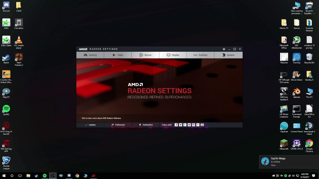 How To Setup 4:3 Blackbars/Stretched in AMD Radeon settings