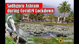 Sadhguru's Ashram Isha foundation During Lockdown Sadhguru's home south india coimbatore isha yoga