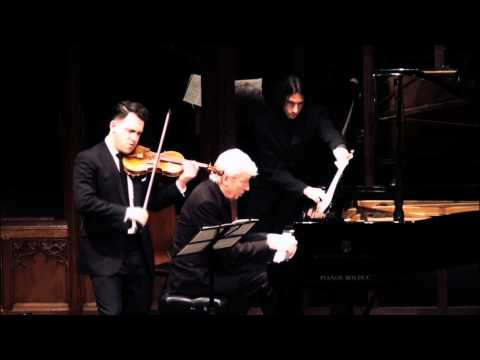 Giora Schmidt & Jean-Philippe Collard - Ravel Violin Sonata No. 2 in G Major