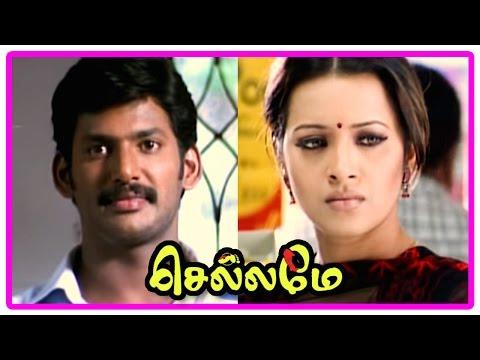 Chellame movie scenes | Reema realises her mistake | Vishal and Reema Sen get married | Bharath