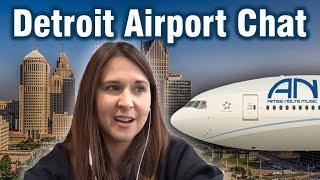 Detroit Airport Chat