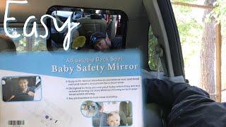 Baby Mirror Install on Car Headrest