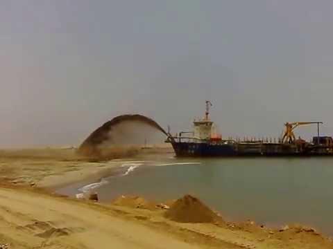 Shore Sand Pumping Ship
