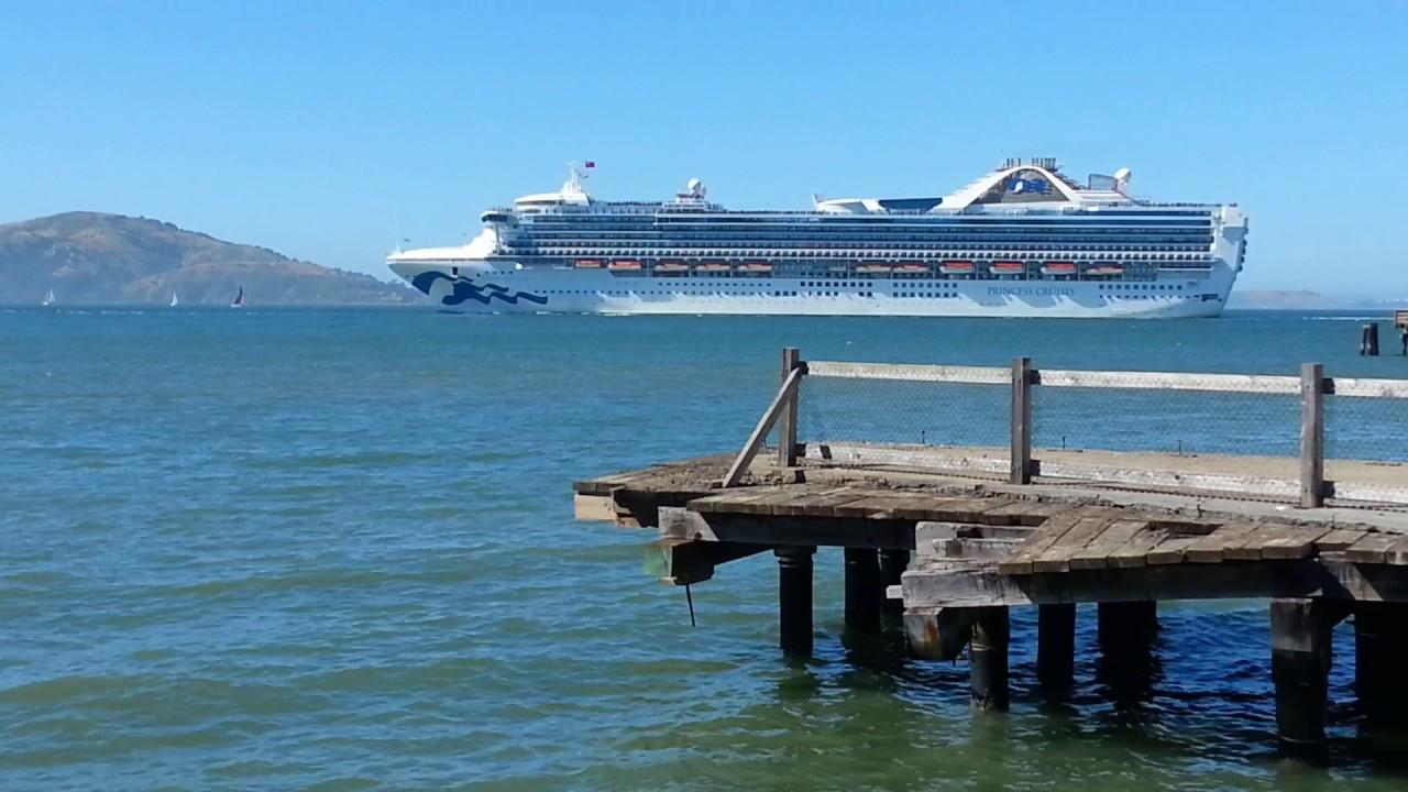 Grand Princess Cruise Ship Leaving San Francisco Bay June - Cruise ships from san francisco
