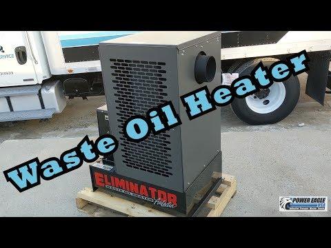 Power Eagle Eliminator 120 Waste Oil Heater