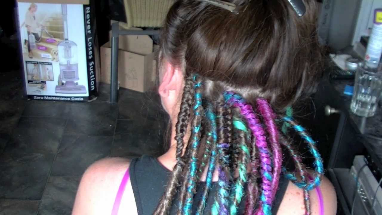 Professional Synthetic Dreadlock Install HD  Rivet Licker  YouTube