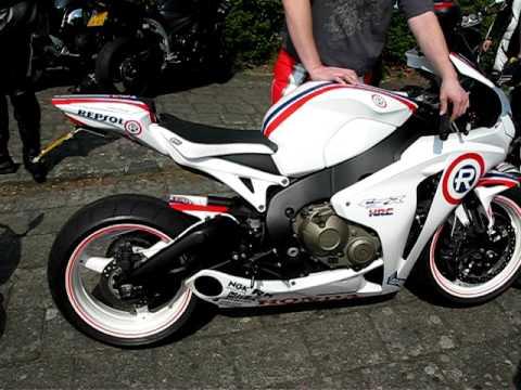 2008 Honda Cbr1000Rr >> Taylor made exhaust on cbr 1000 RR 08 custom paint Repsol ...