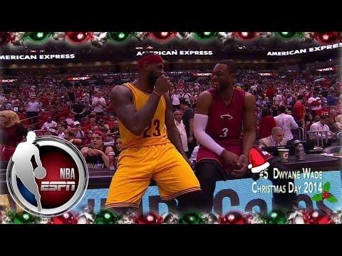 Kobe, MJ, LeBron represent in 12 plays of Christmas   ESPN