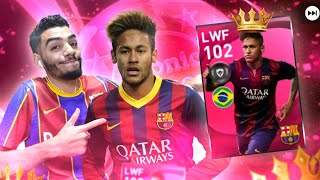 NEYMAR 102 RATED GAMEPLAY REVIEW 🔥 THE BEST LWF IN EFOOTBALL PES 2021 screenshot 3