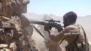 Йемен. +18. ВС Йемена и хуситы продолжают наступление на наемников саудитов в районе Нахм