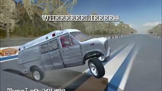 Monster Garage wheelie ambulance mission 4 pc
