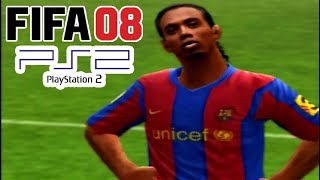 A Look @ FIFA 08 on PS2! [With Zone Play!]