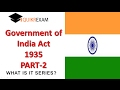 government of india act 1935 part 2