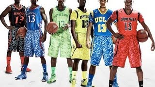 "MARCH MADNESS 2013 : ADIDAS Unveils New NCAA Basketball ""Impact Camo"" Uniforms"