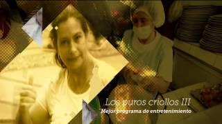 Video Los puros criollos III, ganador India Catalina mejor programa de entretenimiento