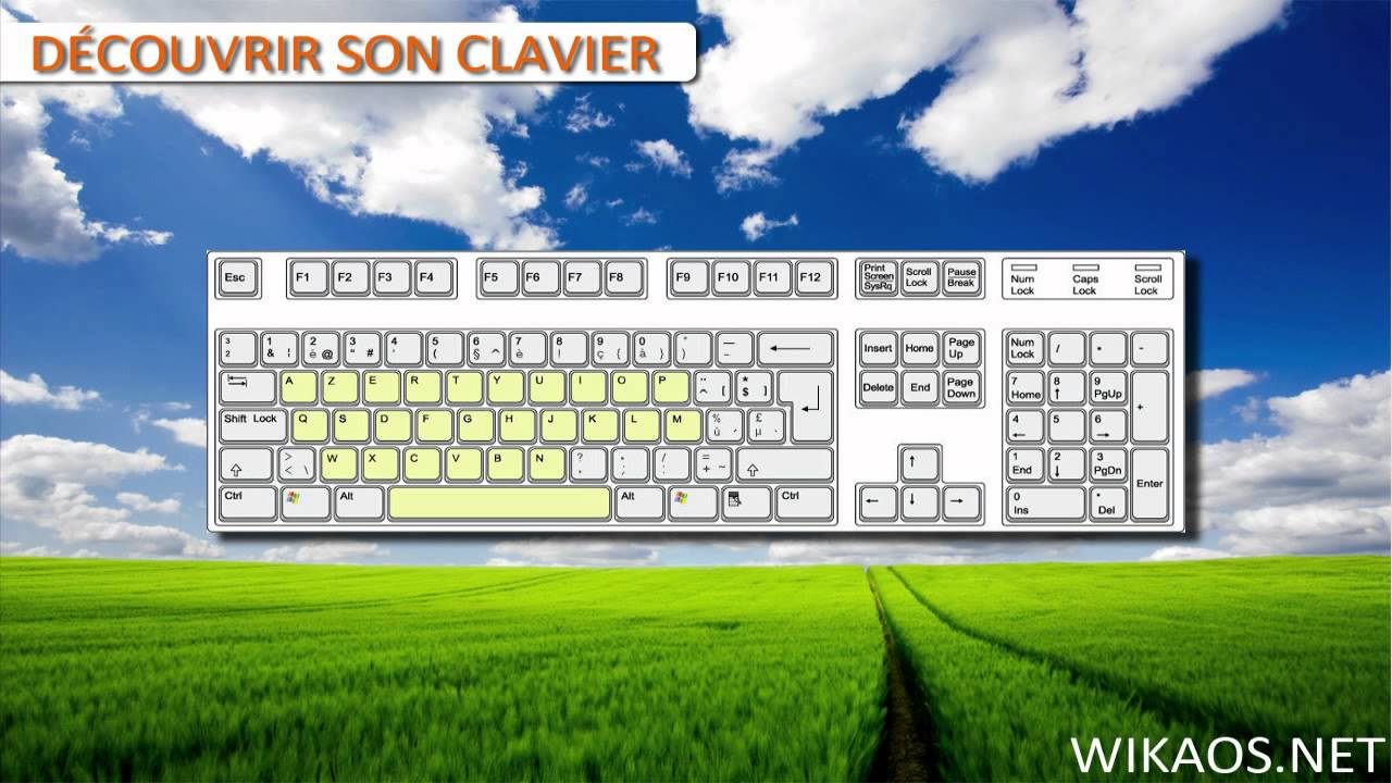 Apprendre les bases d 39 un clavier d 39 ordinateur doovi - Comment bien nettoyer son ordinateur ...
