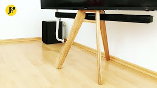 Tripod TV Stand | My First Furniture Project