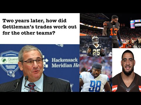 New York Giants Dave Gettleman - What Happened to the four players he traded?  A fans rants