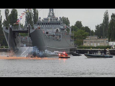 4K | Polish Navy Days Swinoujscie | Open Ship Warship Gen. K. Pułaski