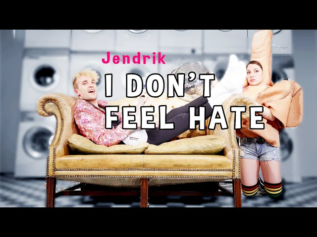 Jendrik – I Don't Feel Hate (Official Music Video - Eurovision 2021)