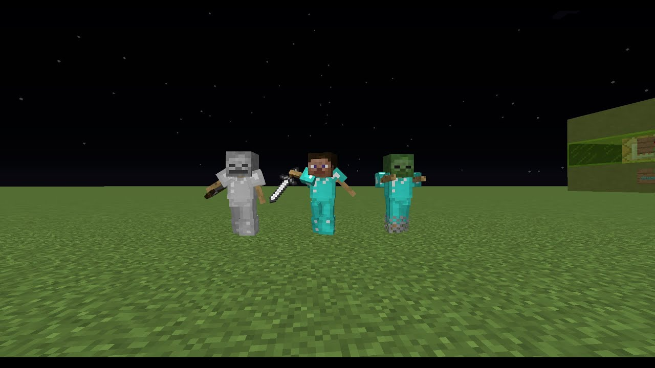 Minecraft One Command Custom Armor Stands 1 8 Youtube