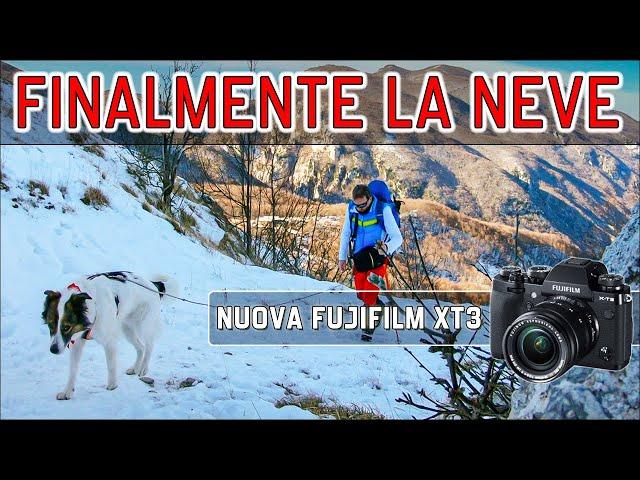❄ Gran Sasso finalmente la neve - Primi test con Fuji XT3 - sicurezza - Incontriamoci il 18 Gennaio