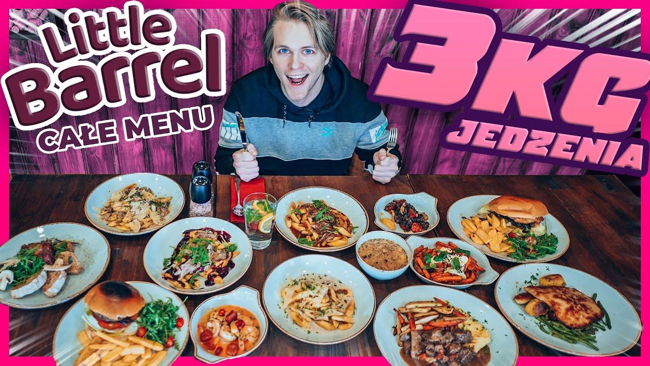 CAŁE MENU CHALLENGE w LITTLE BARREL (NAJLEPSZE KOPYTKA w WARSZAWIE!) | Epic Cheat Meal