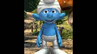 Smurf singing we wish you a merry Christmas