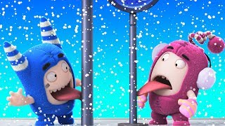 Oddbods | SNOW FUN - CHRISTMAS SPECIAL | Funny Cartoons For Children  | Oddbods & Friends