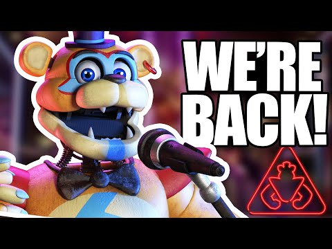 FNAF SECURITY BREACH REUNITED SOME THEORISTS…