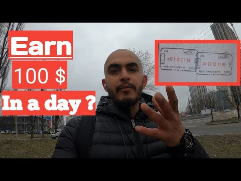How to earn in ukraine | Jobs for indians in ukraine | How I earn 100 $ in a day