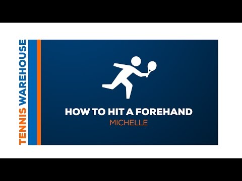 Tennis: How to hit a forehand