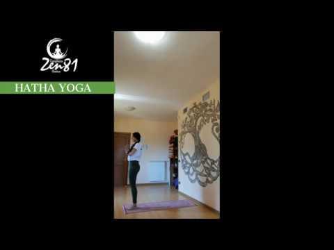Hatha Yoga lezione breve Centro Olistico Zen81