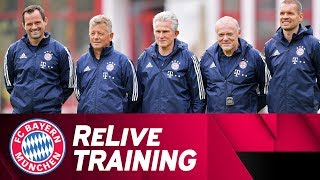 Relive | first fc bayern training w/ jupp heynckes