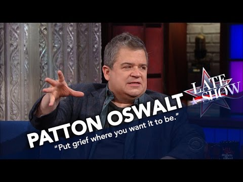 Patton Oswalt: Grieving In Public Is Therapeutic
