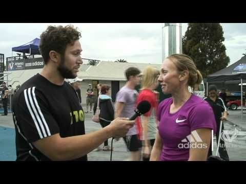 Interview with Tamsyn Manou at Zatopek:10