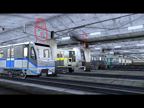 AG Subway Simulator Pro (Android) - Metrô Reservado E Bug Na Estação
