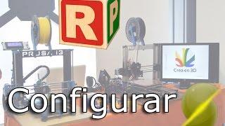 Programa para usar la impresora 3D   Repetier Host   configurar Slic3r