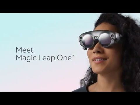 Meet the new Mixed Reality Magic Leap one  AR Goggles. What Is Magic Leap one?