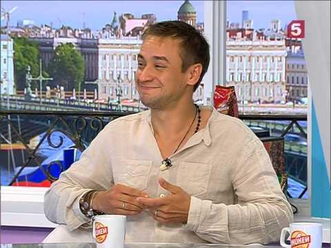 Актёр театра и кино Кирилл Жандаров в программе Утро на 5. 12.08.2015