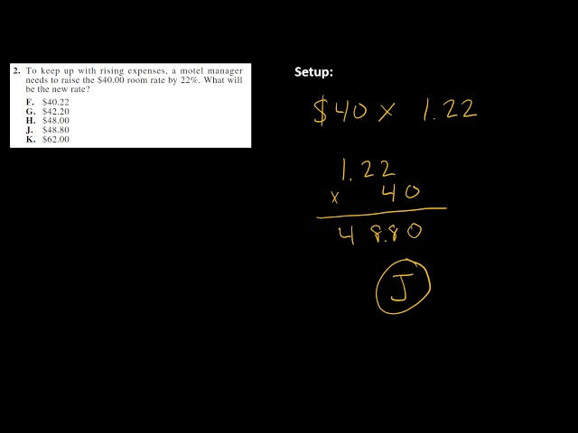 ACT Math 59F 1 4 Mic Test