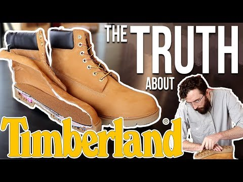 Timberland Boots - (CUT IN HALF) - REVIEW of 6 inch Timberlands